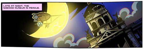 Národní Muzeum in Prague on BloodySugar comic