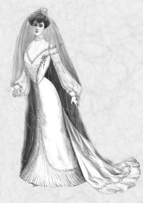 1900 bride